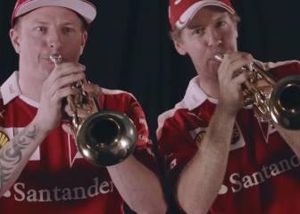 El último duelo de Räikkönen y Vettel