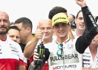 Bagnaia ganó su apuesta: probará la MotoGP de Aspar