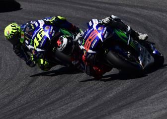 Lorenzo gana el pulso a Rossi en sus 7 años en Yamaha