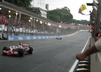Interlagos ha decidido 6 títulos y Hamilton nunca ha ganado allí
