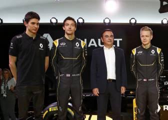 Oficial: Palmer sigue en Renault y Magnussen apunta a Haas