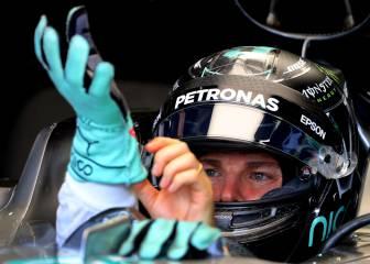 Rosberg domina a Hamilton antes de la lucha por la pole