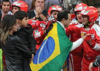 El adiós de Massa y las mejores imágenes de la carrera en Interlagos