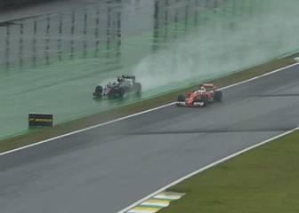 Alonso se quejó de Vettel: