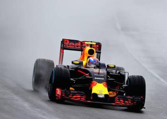 Verstappen emuló a Senna y Schumacher bajo la lluvia
