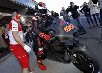 La era Lorenzo-Ducati arrancó a las 10:00 en el Ricardo Tormo