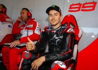 Lorenzo deja atrás su halo angelical en el paso a Ducati