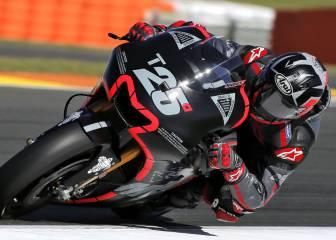 Maverick debuta a lo grande con Yamaha y Lorenzo con Ducati