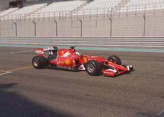 Vettel probó de nuevo los Pirelli de 2017 en Abu Dhabi