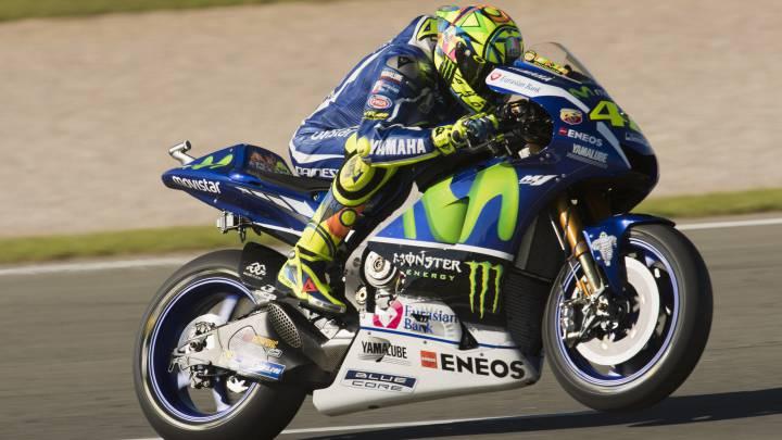 Rossi muestra su descontento con la nueva Yamaha