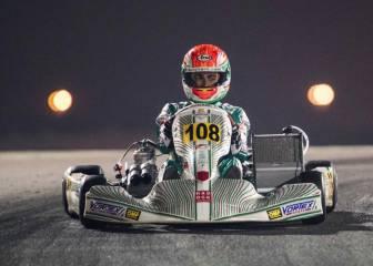 David Vidales, subcampeón del mundo de OKJ en Bahréin