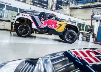 Peugeot desvela la piel del 3008 DKR de Sainz y el 'Dream Team'