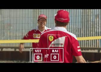 Vettel y Raikkonen se enfrentan fuera de la pista