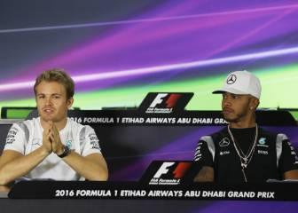 Hamilton presiona a Rosberg: sospecha de los mecánicos