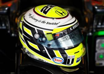 Button se despide con un casco que conmemora el de su título