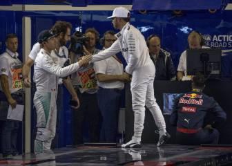 """Hamilton y Rosberg lucharán """"por la victoria en la carrera"""""""