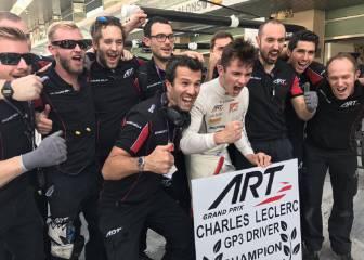 Leclerc se proclama campeón de GP3 sin terminar la carrera