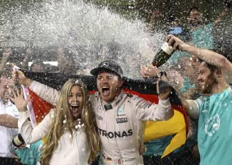 Rosberg se retira: Así fue su última carrera donde fue campeón