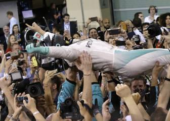 Rosberg: El millonario que pudo con Schumacher y Hamilton