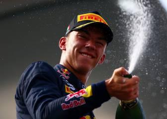 Gasly da una alegría a Red Bull y se lleva el título de la GP2