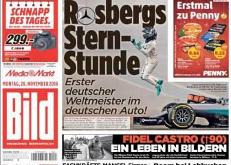 Nico Rosberg: el rey alemán que gobierna en 'Star Wars'
