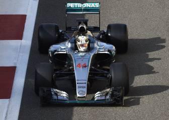 Hamilton, fin a los rumores: rueda ya en el test de Pirelli