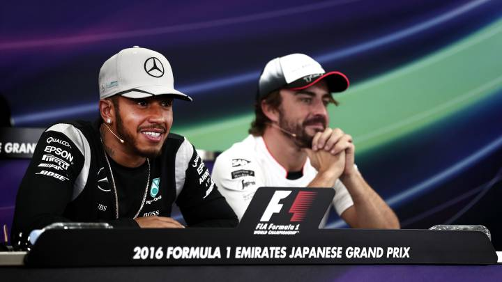 ¿Hamilton junto a Alonso en McLaren? Brown no lo descarta