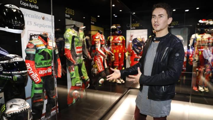 Jorge Lorenzo presenta su nuevo museo en Andorra.