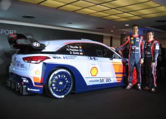 Dani Sordo presenta en Monza su Hyundai i20 para 2017