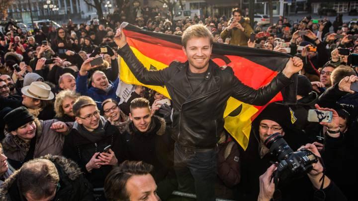 La carta de despedida de Rosberg a los aficionados