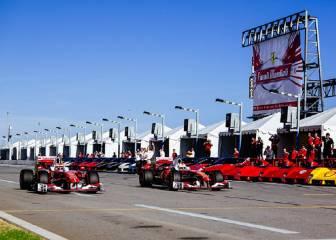 Vettel, Raikkonen y la fusión de dos mundos: la F1 en Daytona