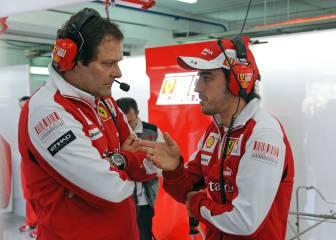 Costa, exingeniero de Ferrari, contrario a la opción Alonso