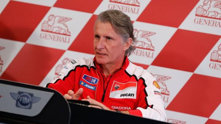 Paolo Ciabatti, director deportivo de Ducati.