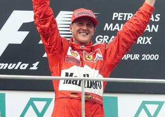 Schumacher, quinto deportista con más ingresos de la historia