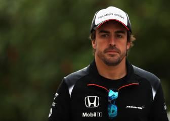 "McLaren reacciona: ""Fernando Alonso no está disponible"""