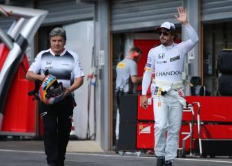 Alonso sigue siendo el rey de la primera vuelta con McLaren