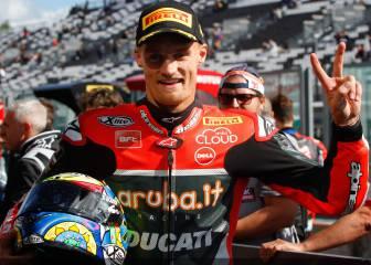 Ducati premia a Davies: test con la Desmosedici de Lorenzo