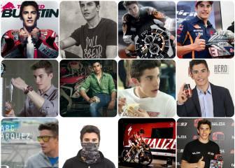Icono publicitario y filón para las marcas: Marc Márquez