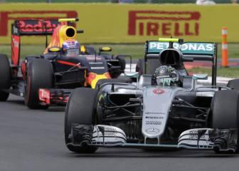 Red Bull ve sufrir a Mercedes porque no han tenido presión