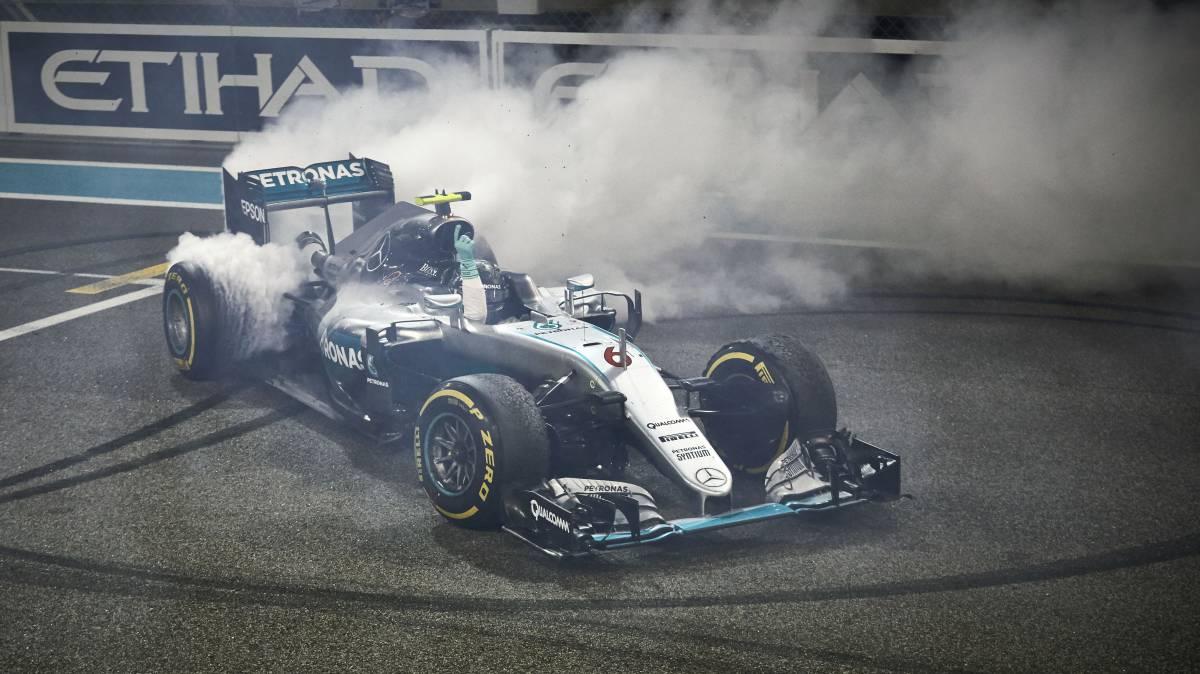 Nico Rosberg, campeón del Mundo de la F1 en 2016.