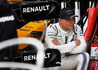 Bottas visitó Mercedes antes de Navidad y se hizo el asiento