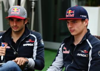 Verstappen confiesa su mala relación con Carlos Sainz