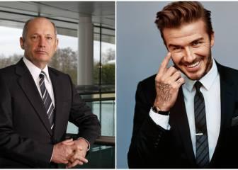 Ron Dennis y David Beckham: gritos y tensión en Maldivas