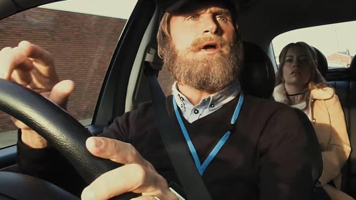 Coulthard... el taxista loco