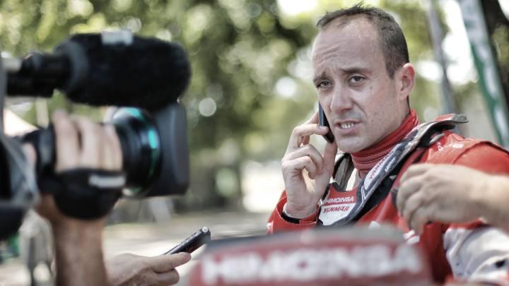 """Gerard Farrés: """"No quiero pensar en el podio todavía"""""""