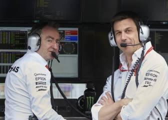 Mercedes dice adiós al director técnico de sus tres mundiales