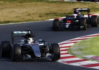 Honda estará, como máximo, a 3 décimas del motor Mercedes