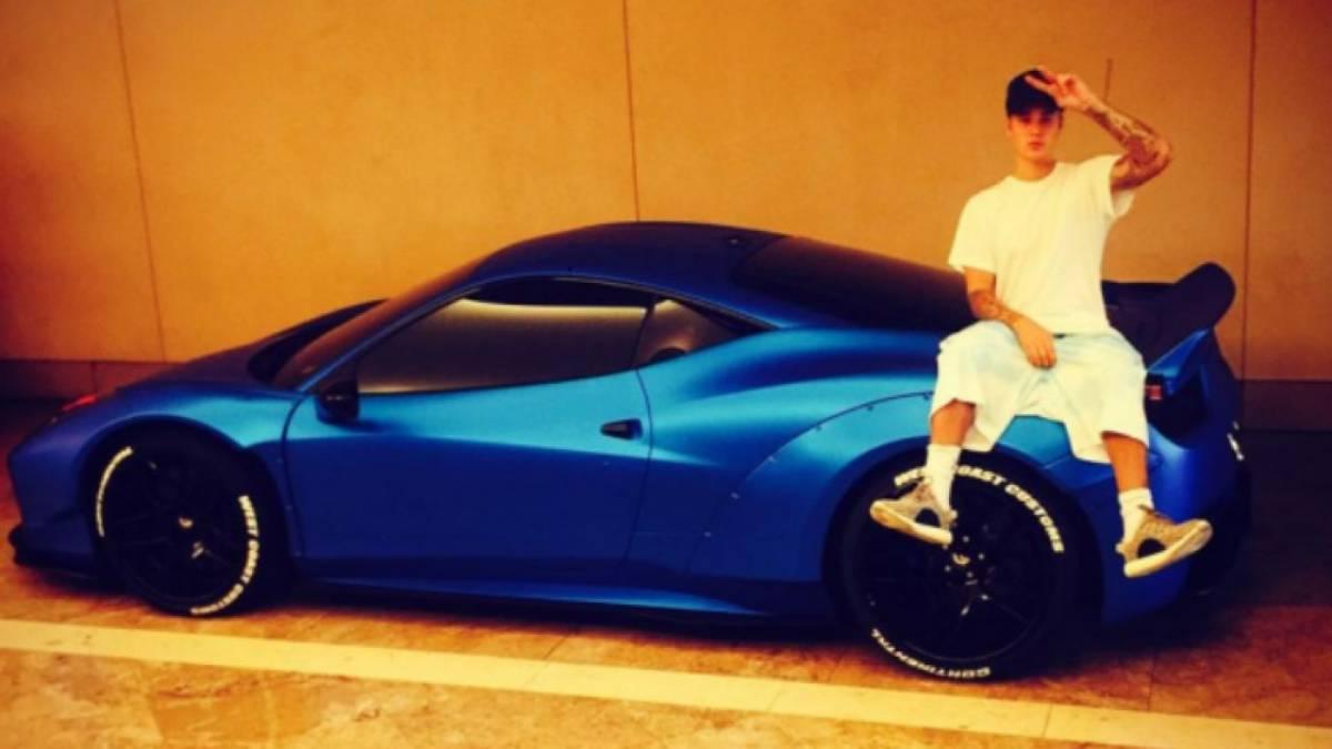 Subastarán Ferrari diseñado para Justin Bieber