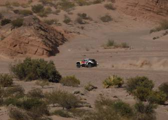 Atropello, victoria y liderato para Peterhansel en el Dakar