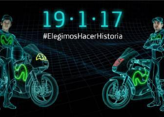 La nueva Yamaha de Rossi y Viñales se presenta en 7 días